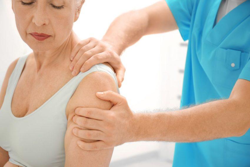 Badanie kości kobieta