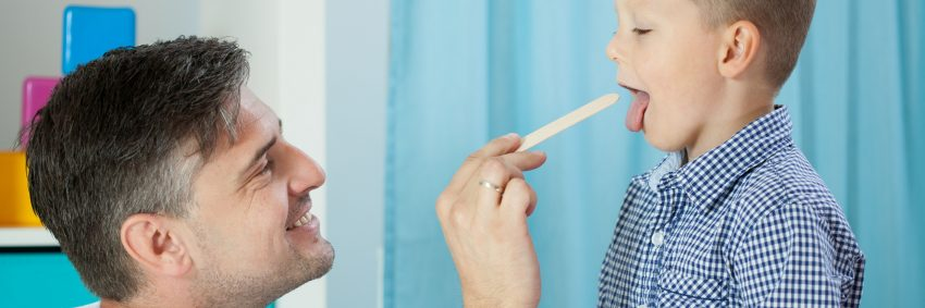 badanie gardła