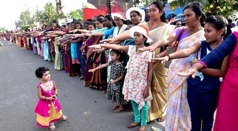 Protest kobiet w indyjskim stanie Kerala