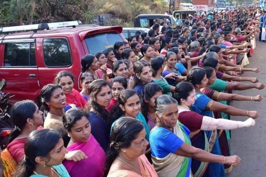 Protesty kobiet w stanie Kerala