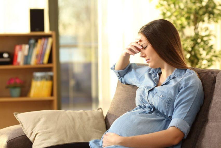Kobieta w ciąży z endometriozą