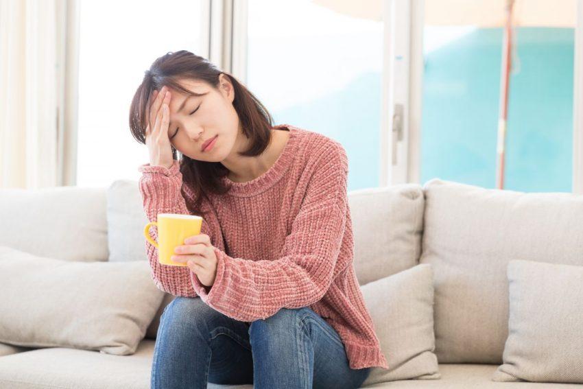 Kobieta cierpiąca na gronkowca