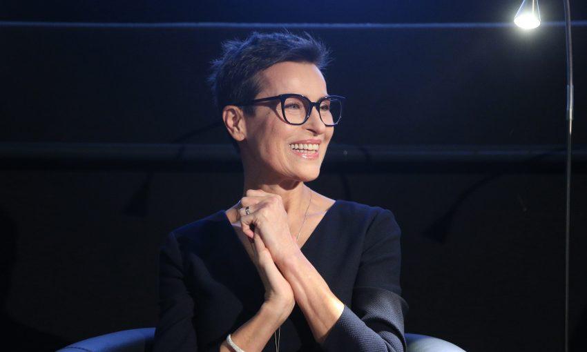 """Danuta Stenka na premierze nowego wydania książki """"Flirtując z życiem"""""""