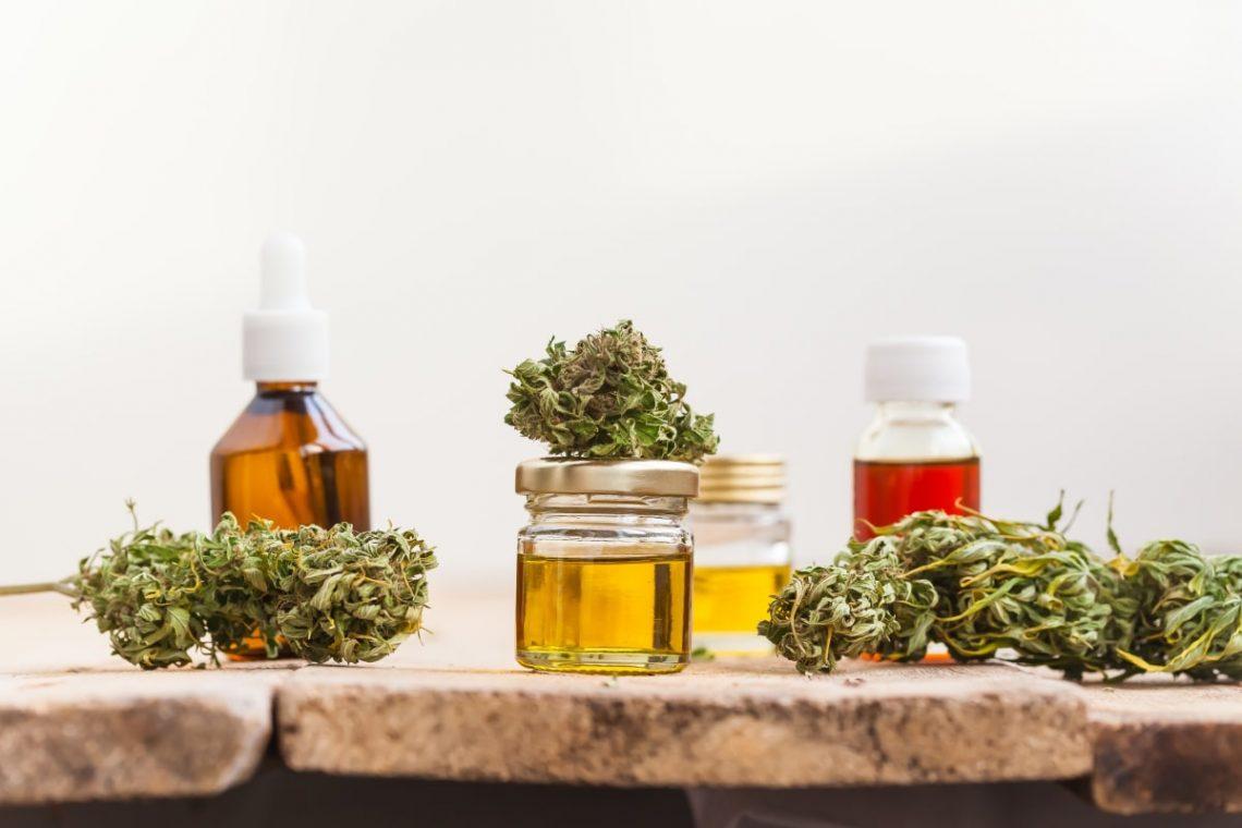 marihuana oraz inne wytwory z konopii