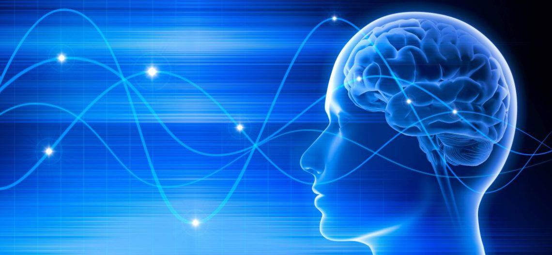 futurystyczny obraz ludzkiego mózgu z połączeniami neuronowymi