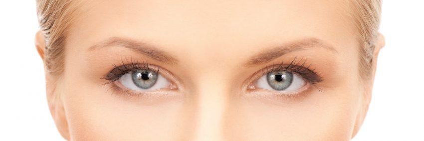 kobiece oczy
