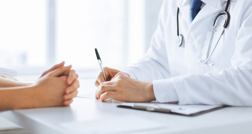 kobieta - konsultacja lekarska