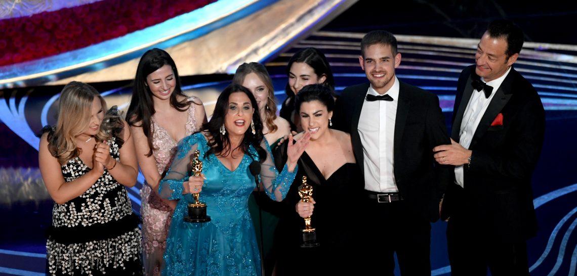 Rayka Zehtabchi odbiera Oscara