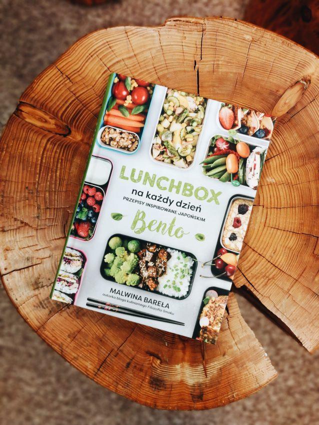 """ksiażka """"Lunchbox na każdy dzień"""""""