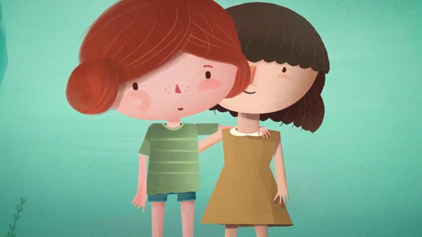 Screen z animacji kampanii Wciąż jestem tym, kim byłem