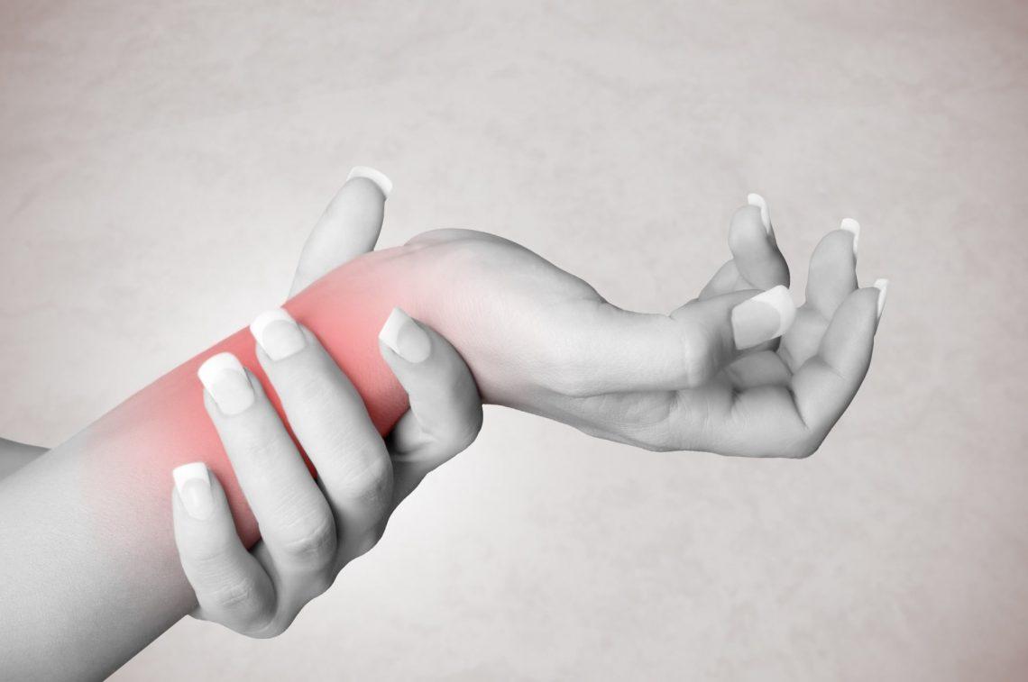 ból w nadgarstku