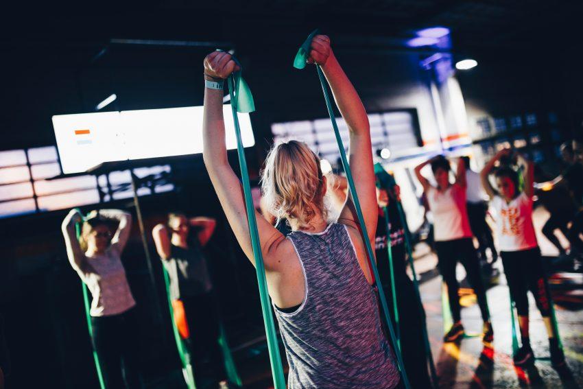 Kobiety na zajęciach fitness