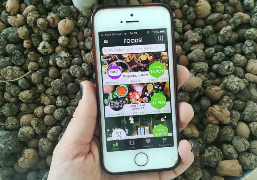 Foodsi aplikacja