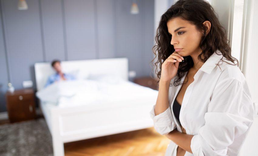 seks myśląca kobieta