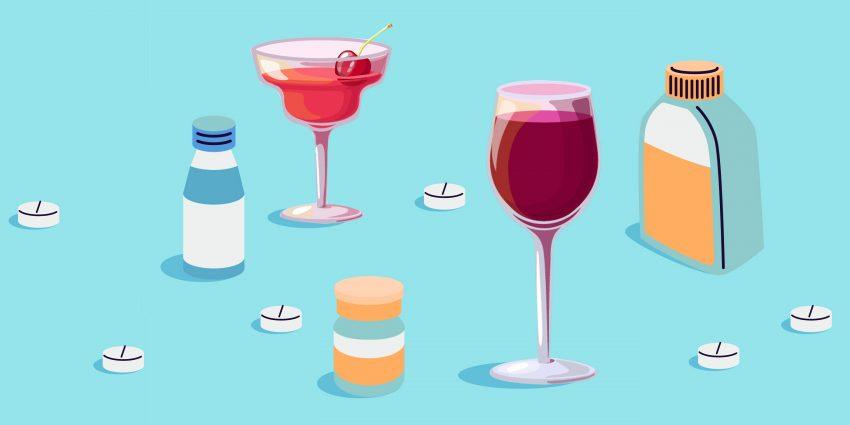 leki a alkohol