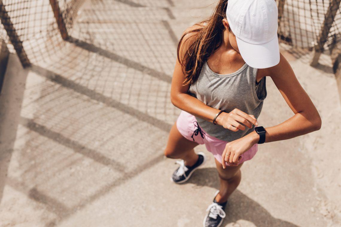 Kobieta podczas treningu