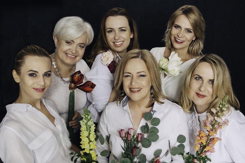 Hanna Kurcińska, Gabriela Kurcińska, Agata Borzym, Magda Kucharska, Monika Nowakowska, Marcelina Kurcińska