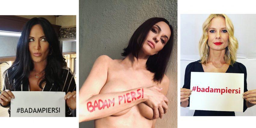 Kayah, Maja Hirsch, Magdalena Cielecka biorą udział w akcji #badampiersi