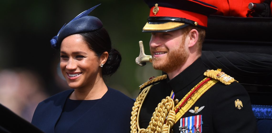 Książę Harry i księżna Meghgan