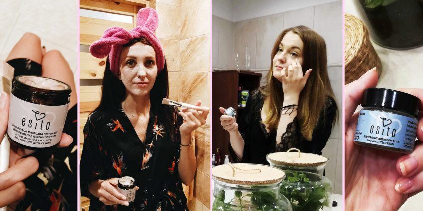 HZ testuje naturalne kosmetyki: maseczka liftingująca i krem pod oczy od Esito