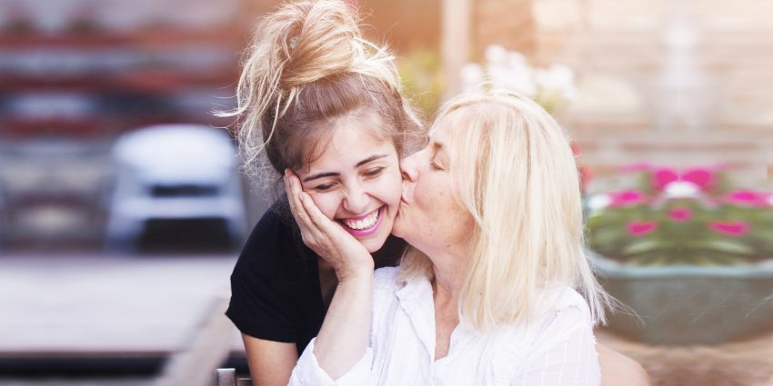 Dorosła córka z matką
