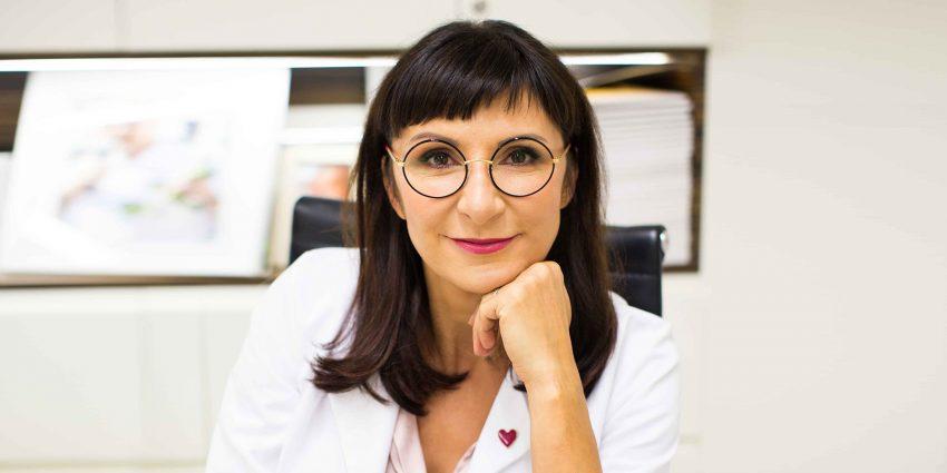 Prof. Marzena Dębska / zdj. Lewanowicz