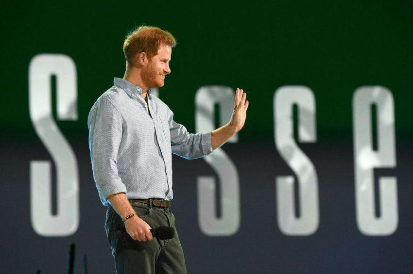 Książę Harry na koncercie Vax Live/ fot. GettyImages